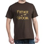 Sherbet Father of the Groom Dark T-Shirt