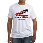 Warning I'm Conservative Fitted T-Shirt