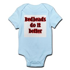"""Redheads do it better"" Infant Creeper"