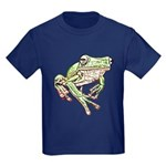 Painted Frog Kids Dark T-Shirt