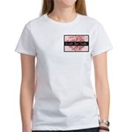 Pink Toile World's Best Mother Mom Women's T-Shirt
