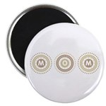 Cool Mod Mom Dots Mother's Day Magnet