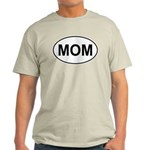 Mom European Oval Mother's Day Light T-Shirt