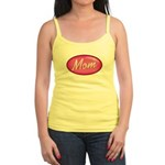 Pink Mom is my Idol Logo Jr. Spaghetti Tank