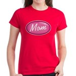 Pink Mom is my Idol Logo Women's Dark T-Shirt