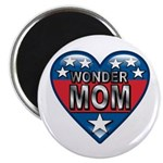 Heart Wonder Mom Mother's Magnet