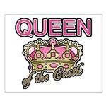 Queen of the Castle Crown Mother Small Poster