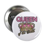 "Queen of the Castle Crown Mother 2.25"" Button (10"