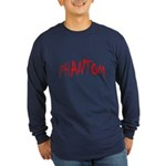 Phantom Halloween Long Sleeve Dark T-Shirt