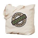 Mom Name Brand Apparel Logo Tote Bag