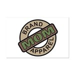 Mom Name Brand Apparel Logo Mini Poster Print