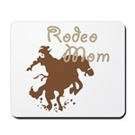 Rodeo Mom Wester Cowboy Cowgirl Mousepad