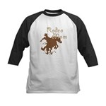 Rodeo Mom Wester Cowboy Cowgirl Kids Baseball Jers