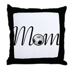 Pretty Soccer Mom Mother's Day Throw Pillow