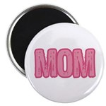 Mom in Pink Mother's Day Magnet