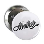 "Mother Tattoo Art Text 2.25"" Button (100 pack)"