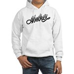 Mother Tattoo Art Text Hooded Sweatshirt