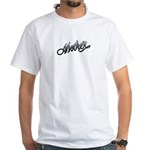 Mother Tattoo Art Text White T-Shirt