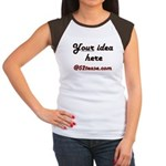 Personalized Customized Women's Cap Sleeve T-Shirt