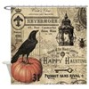 Modern vintage Halloween Shower Curtain