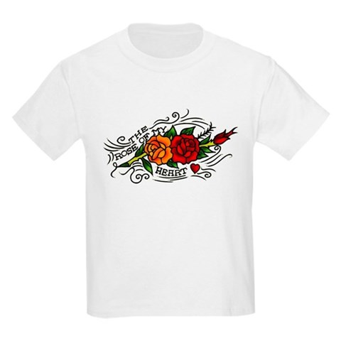 Rose of Heart Tattoo T-Shirt