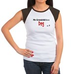 Dog Grandchild Women's Cap Sleeve T-Shirt