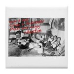 Awesome College Opium Tile Coaster