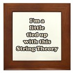 Tied Up String Theory Framed Tile