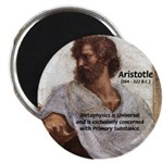 "Ancient Greek Philosophy: Aristotle 2.25"" Magnet ("