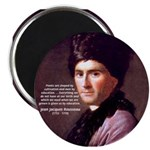 "Jean Jacques Rousseau: Education 2.25"" Magnet (10"