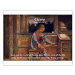 Cicero: God Nature Small Poster