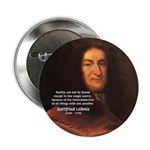 "Gottfried Leibniz Metaphysics 2.25"" Button (100 pa"