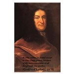 Gottfried Leibniz Metaphysics Large Poster
