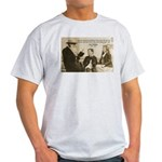 Leo Tolstoy: God Quotes Ash Grey T-Shirt
