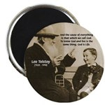 Leo Tolstoy: God Quotes 2.25&quot; Magnet (100 pack)