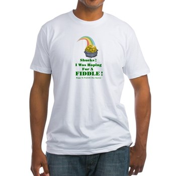 Pot of Gold Irish Fiddle Shirt