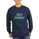 Big Boned Long Sleeve Dark T-Shirt