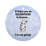Heavenly Dalmatians Ornament