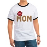 New Mom Mother First Time Ringer T