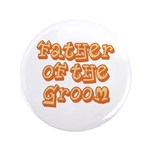 "Father of the Groom 3.5"" Button (100 pack)"