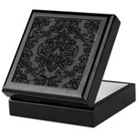 Gothic Lace Damask Keepsake Box