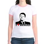 I Heart Reagan Jr. Ringer T-Shirt