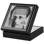 Erwin Schrodinger One Reality Keepsake Box