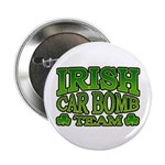 "Irish Car Bomb Team Shamrock 2.25"" Button (10 pack"