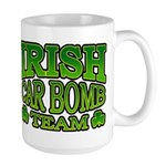 Irish Car Bomb Team Shamrock Large Mug