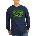 Irish Car Bomb Team Shamrock Long Sleeve Dark T-Sh