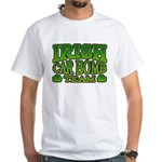 Irish Car Bomb Team Shamrock White T-Shirt