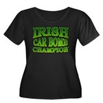 Irish Car Bomb Champion Shamrock Women's Plus Size