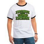 Irish You Were Irish Shamrock Ringer T