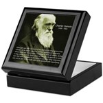 Charles Darwin: Science Keepsake Box